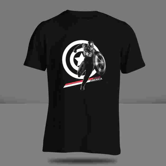 T-shirt Captain America ( S - M - L )