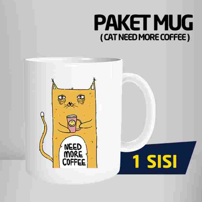 Mug Need More Coffee Code #02