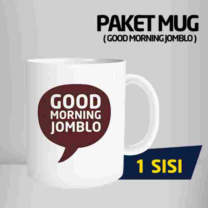 Mug Good Morning Jomblo Code #03