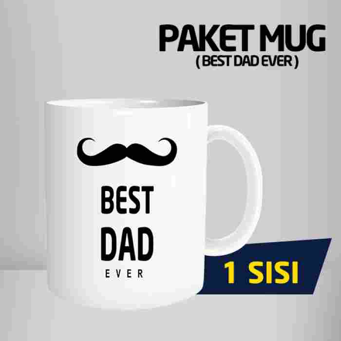 Mug Best Dad Ever Code #01