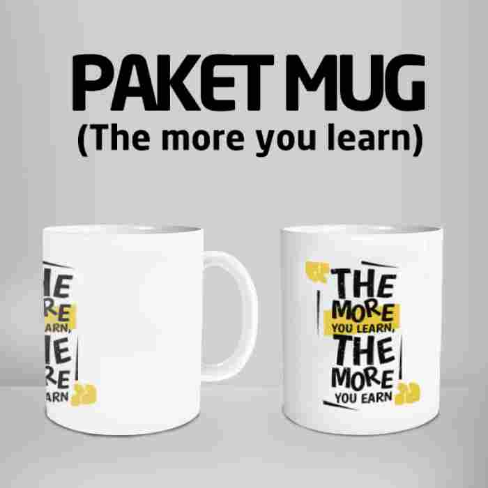 Mug The More You Learn Code #06