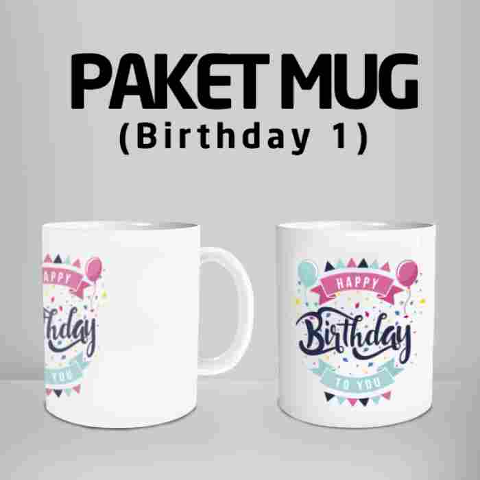 Mug  Happy Birthday 1 Code #13