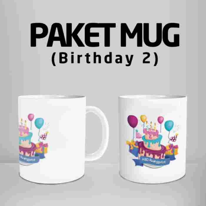 Mug Happy Birthday 2 Code #12