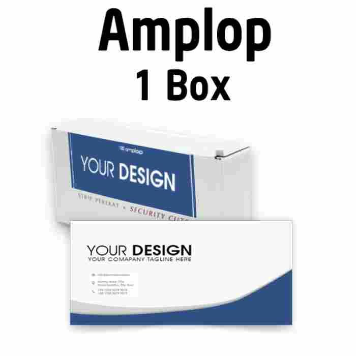 Custom Amplop Putih