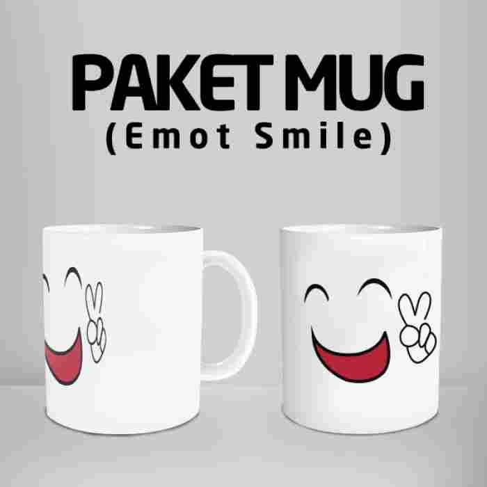 Mug Smile 03 Code #10