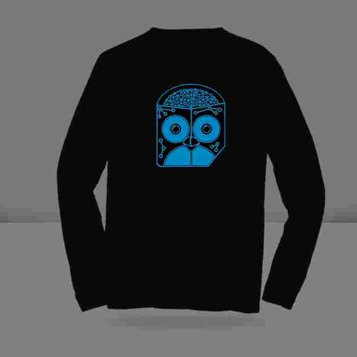 T-shirt Glow in the dark Long Sleeve Custom ( S, M, L )