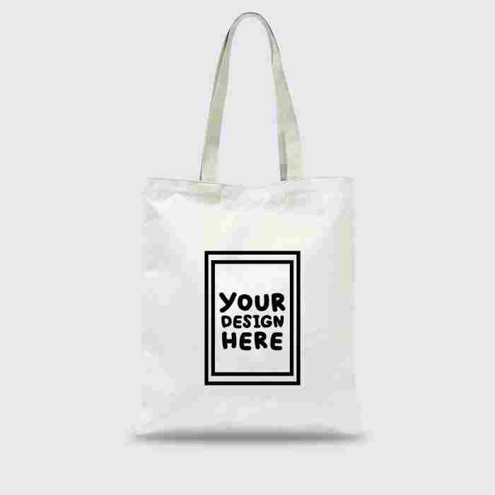 Custom Tote Bag Premium 1 Warna 1Sisi (30 x 40 cm)