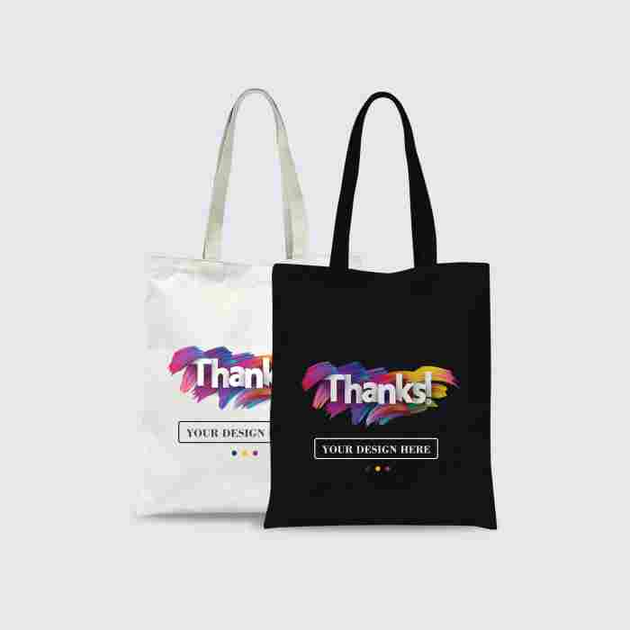 Custom Tote Bag Premium Full Color 2 Sisi (30 x 40 cm)
