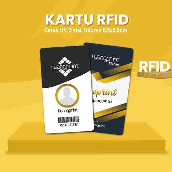 Kartu RFID Custom (2 Sisi)