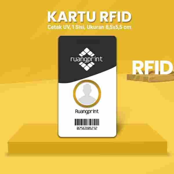 Kartu RFID Custom (1 Sisi)