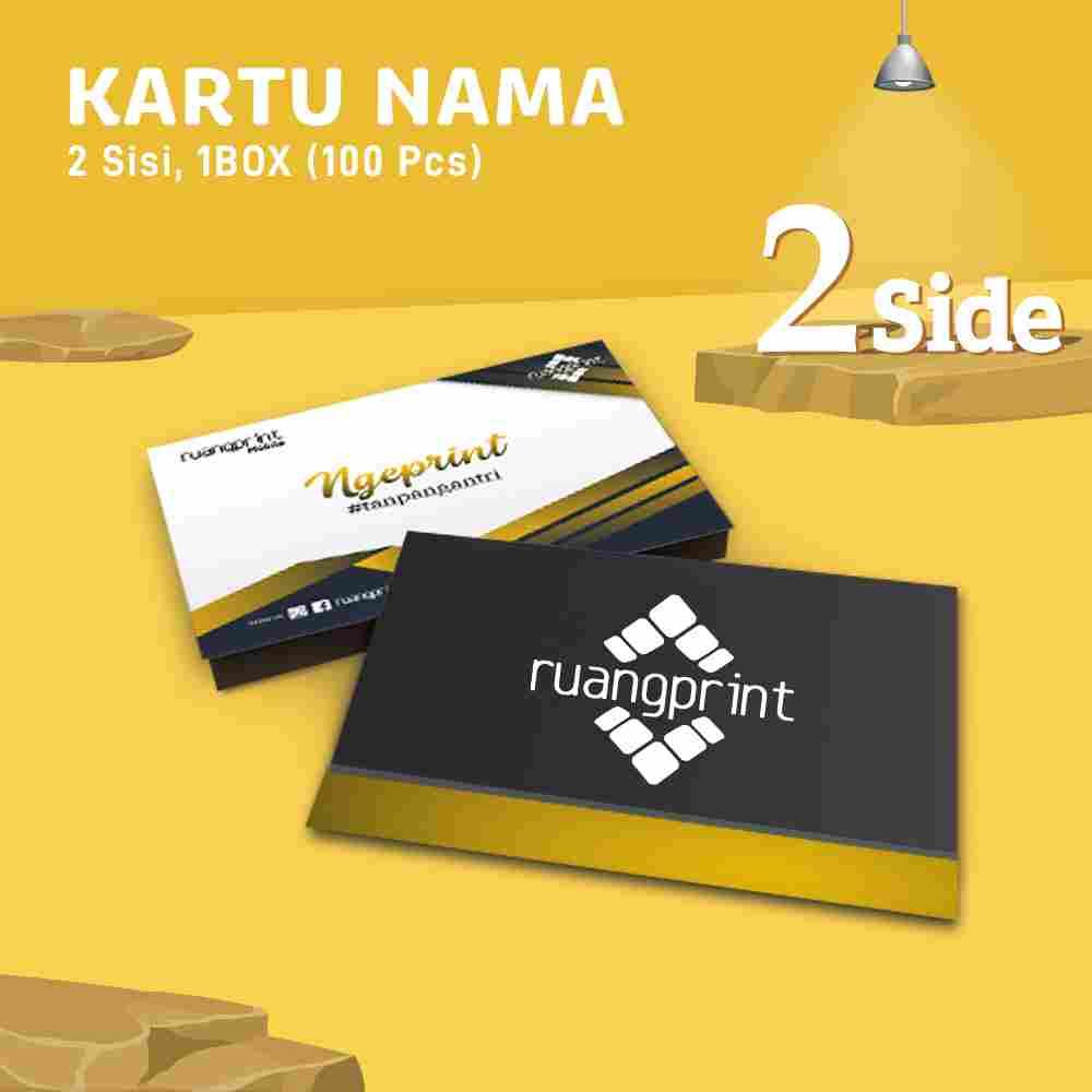 PAKET Kartu Nama (2 Side)