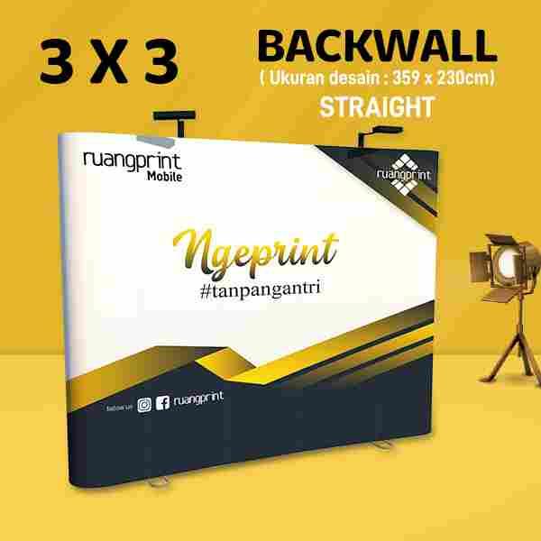 Backwall Straight 3x3