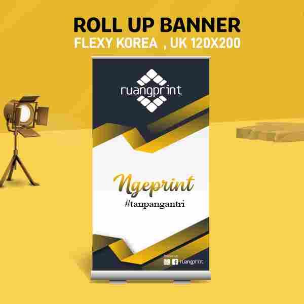 Roll Up Banner 120 x 200 cm (Flexy Korea)