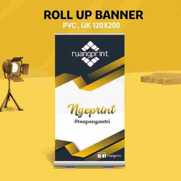Roll Up Banner 120 x 200 cm (PVC)