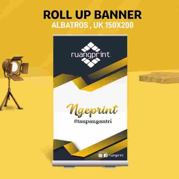 Roll Up Banner 150 x 200 cm (Albatros)