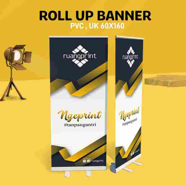 Roll Up Banner 60 x 160 cm (PVC)