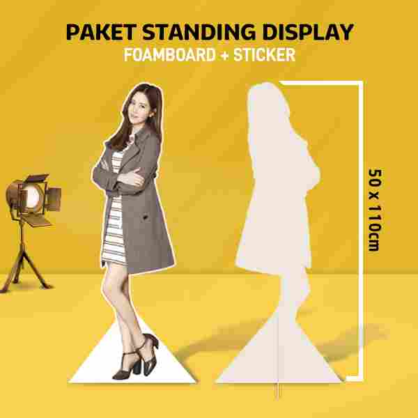Standing Human 110 x 50 cm