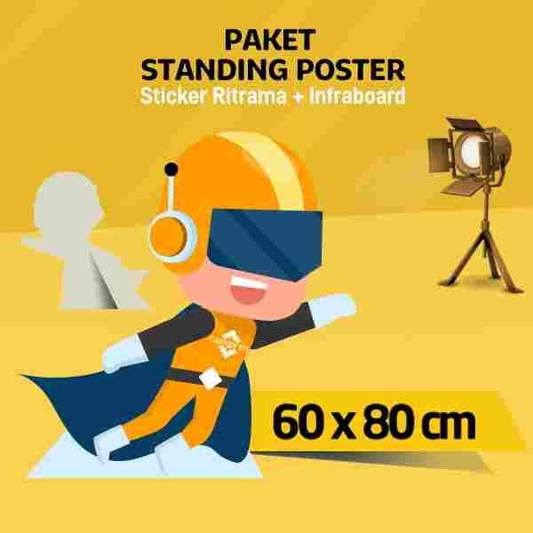 Standing Human 60 x 80cm