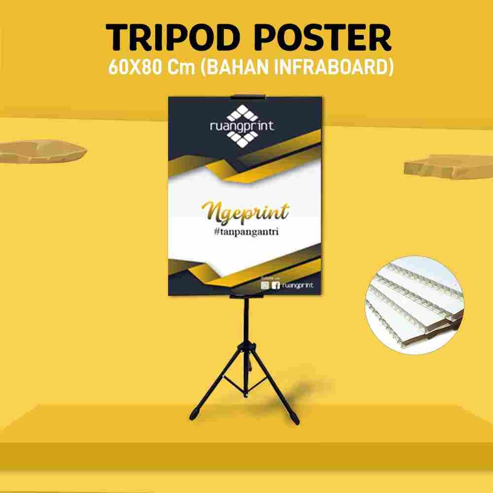 Tripod + Poster 60 x 80 cm (Infraboard)
