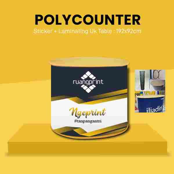 Polycounter RO (Tanpa Header)