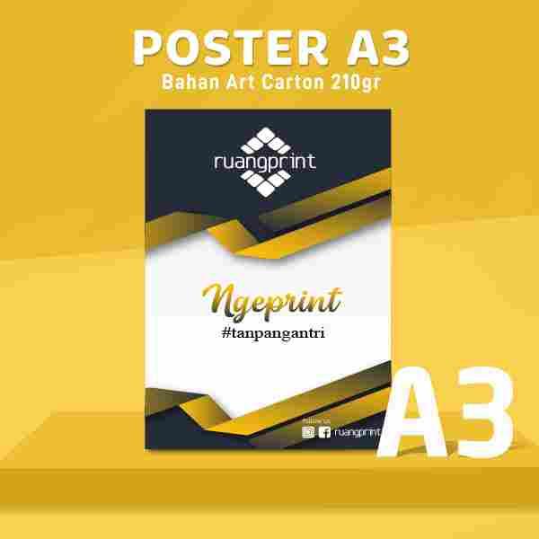 POSTER A3 Art Carton 210gr