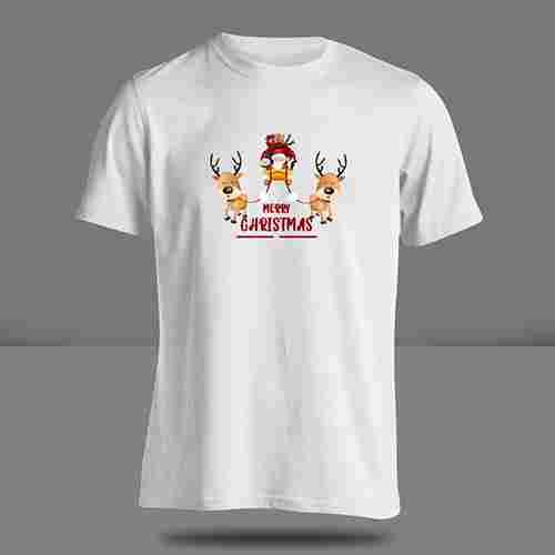 T-Shirt Merry Christmas #02 ( S, M, L ) 1 Side
