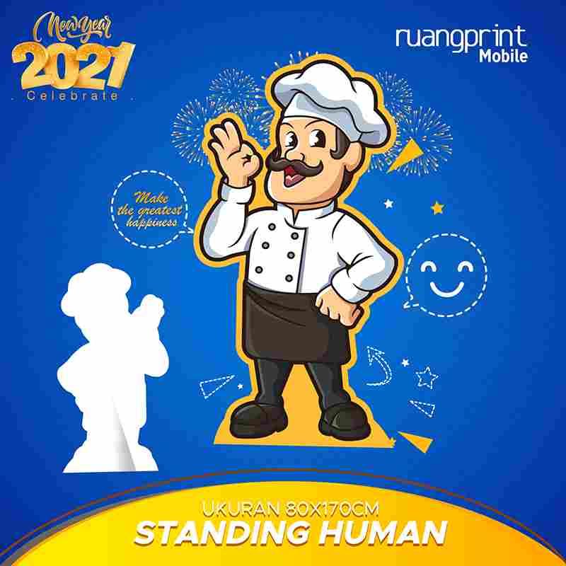 Standing Human 80 x 170cm