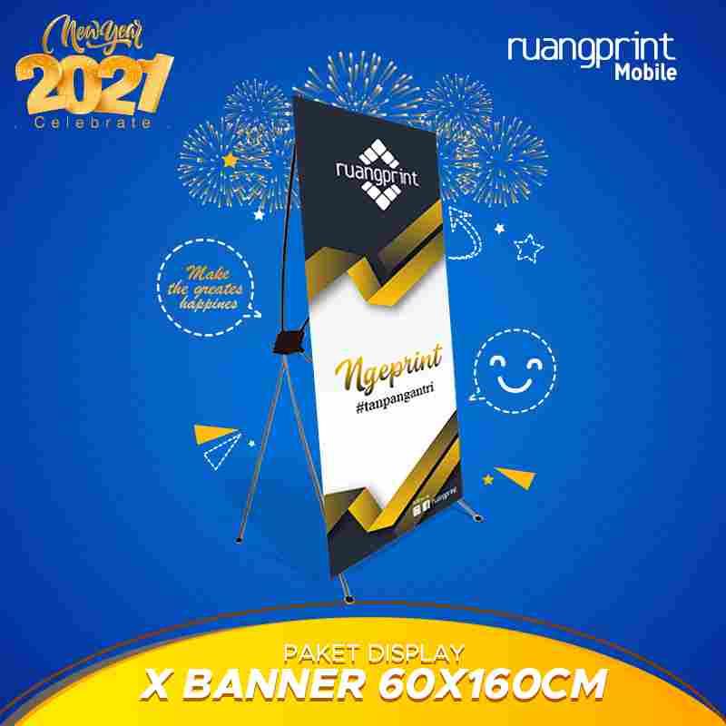 X Banner 60 x 160 cm(Flexy Korea)