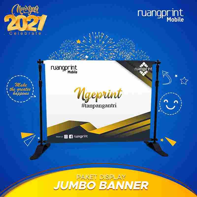 Jumbo Banner Flexy 340gr ( 2.5 x 2 m )