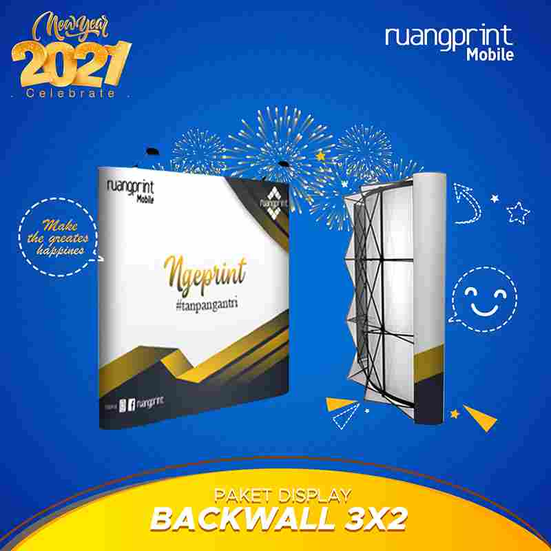 Backwall Straight 3 x 2