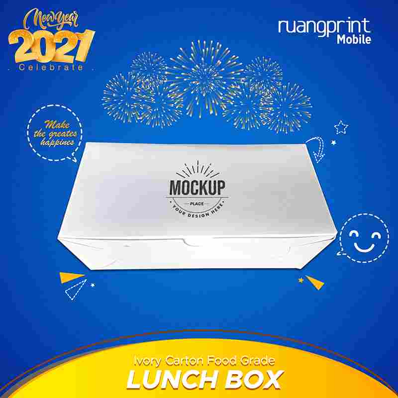 Lunch Box Medium Ivory
