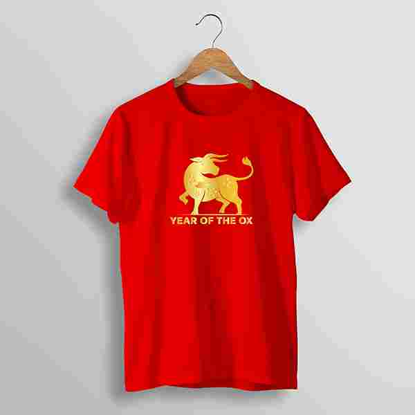 T-Shirt Chinese New Year #10 (S, M, L) 1 Side