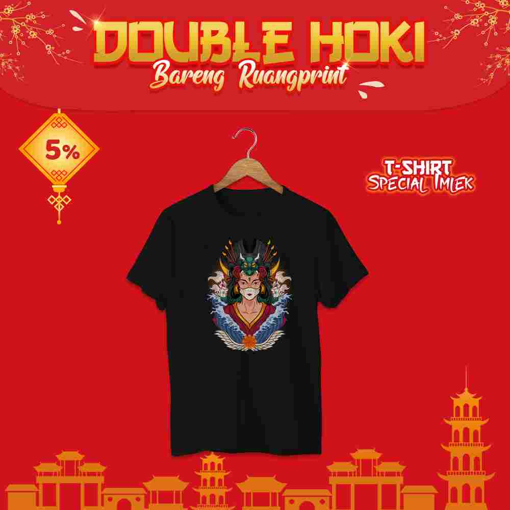 T-Shirt Chinese New Year #14 (S, M, L) 1 Side