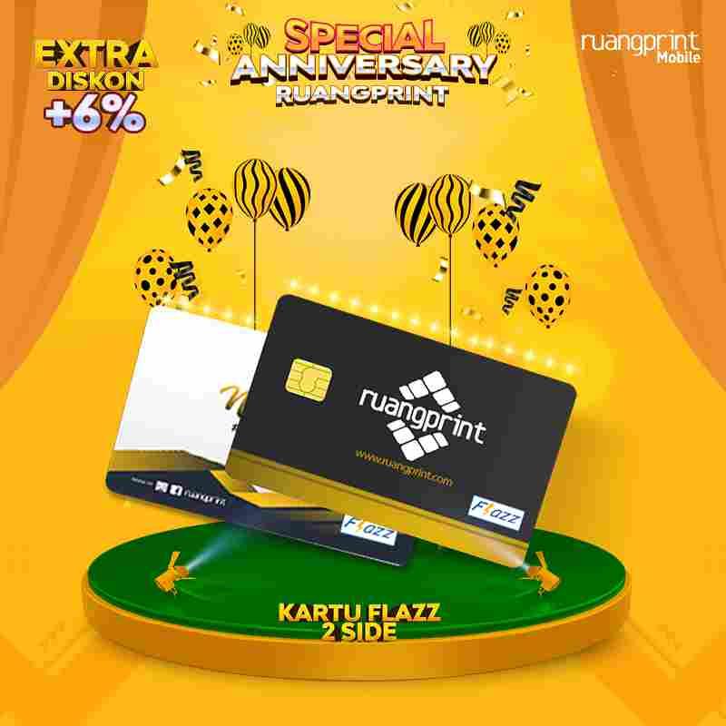 Custom Kartu Flazz BCA (2 Sisi)