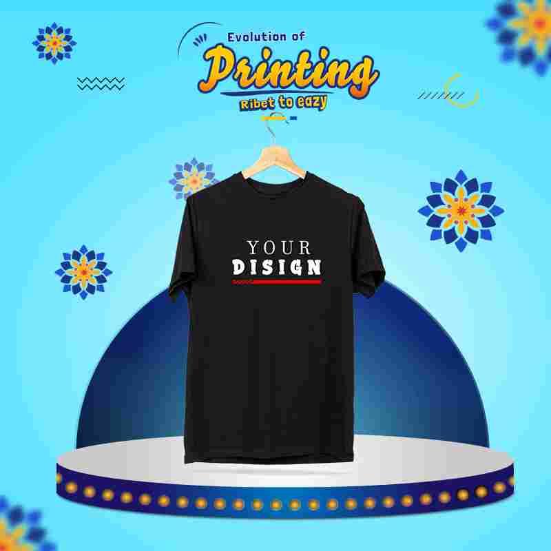 T-Shirt  1 Side Custom ( S, M, L ) A4