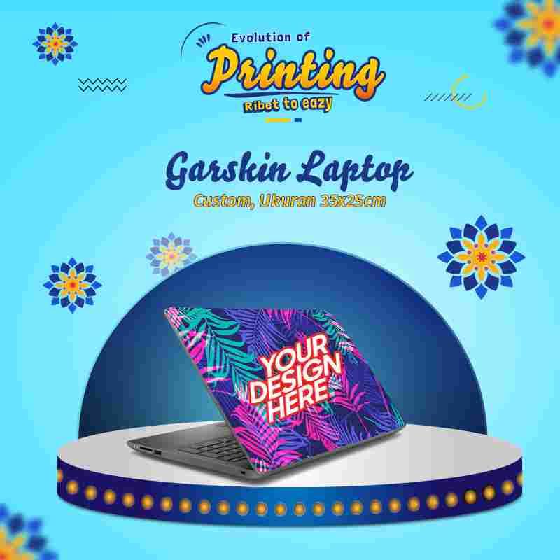 Custom Garskin Laptop