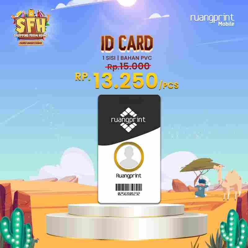 PAKET ID Card (1 Side)