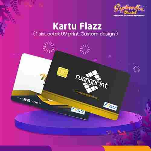 Custom Kartu Flazz BCA (1 Sisi)