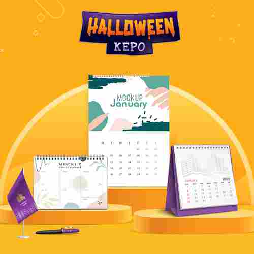 Kalender Meja / Kalender Duduk A5